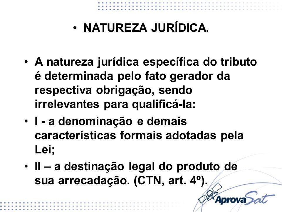 NATUREZA JURÍDICA.