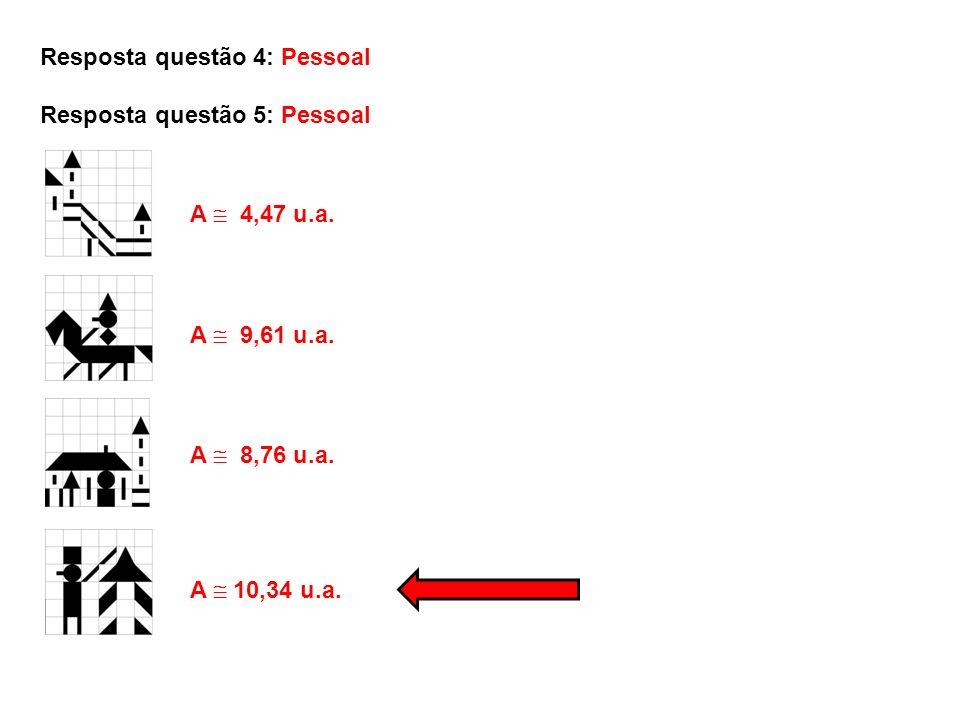 Resposta questão 4: Pessoal