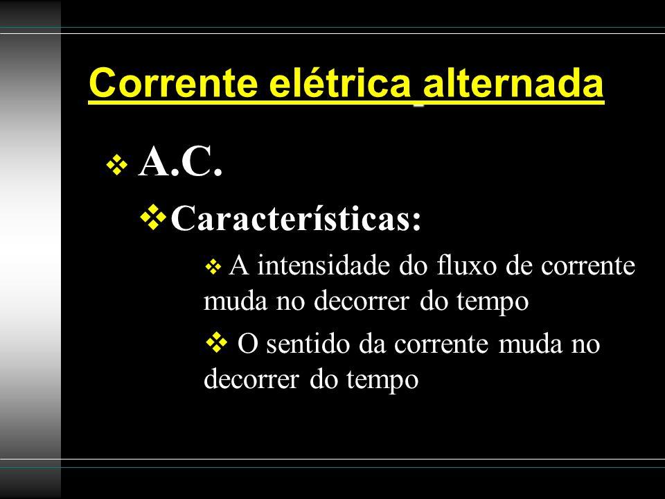 Corrente elétrica alternada