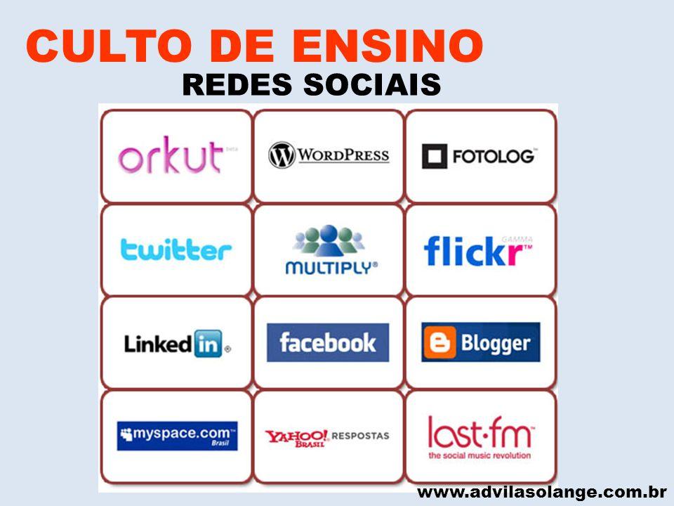 CULTO DE ENSINO REDES SOCIAIS www.advilasolange.com.br