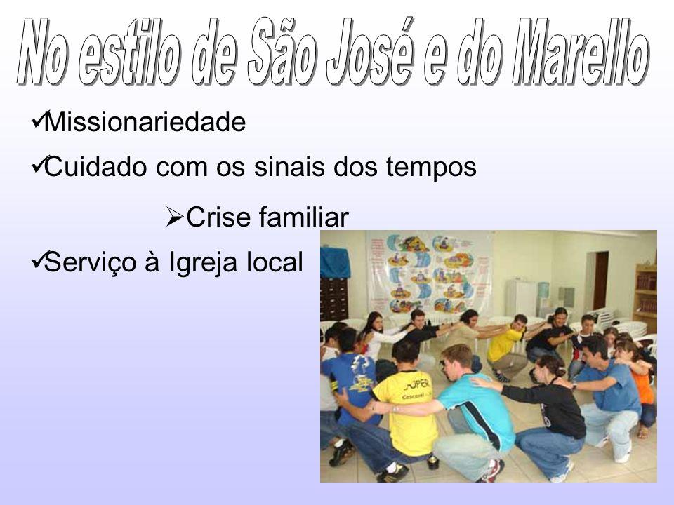 No estilo de São José e do Marello