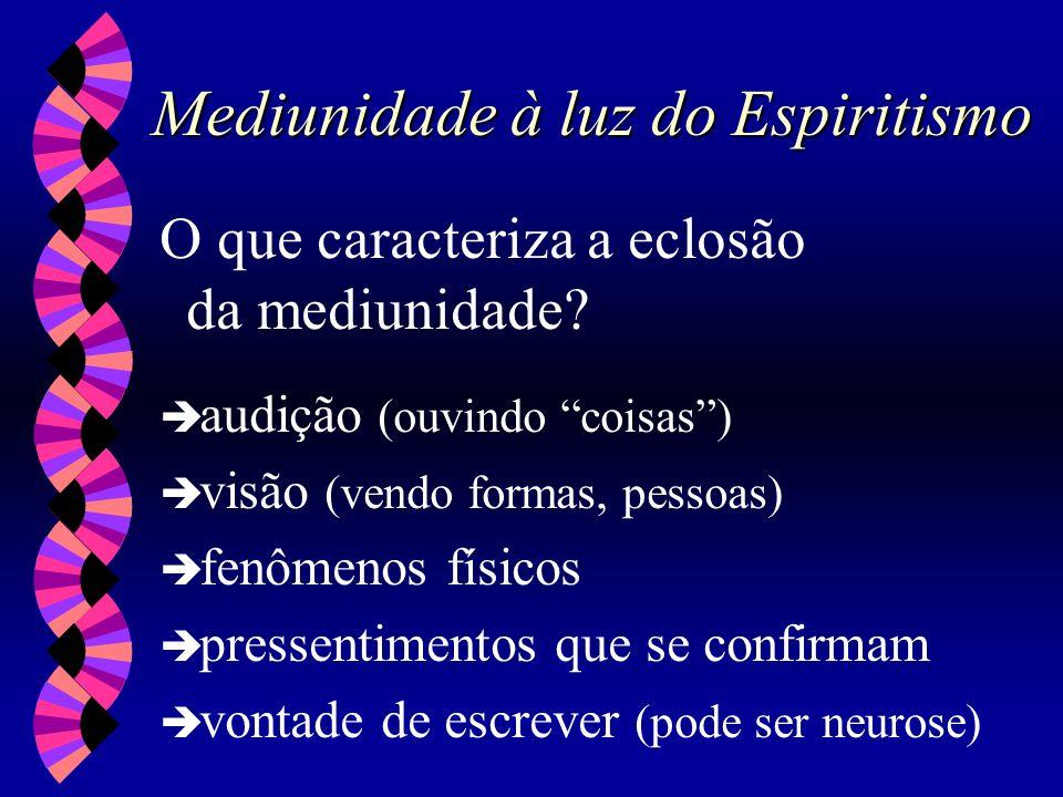 Mediunidade à luz do Espiritismo