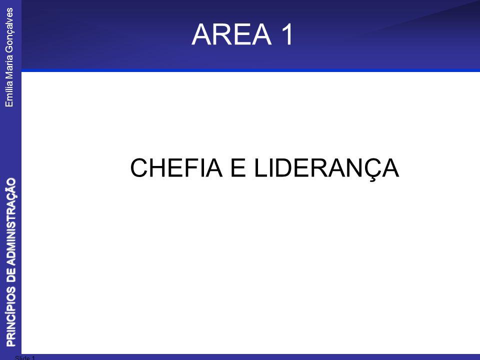 AREA 1 CHEFIA E LIDERANÇA