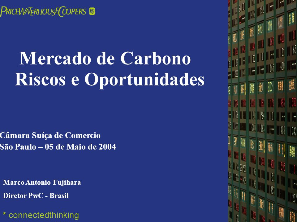 Mercado de Carbono Riscos e Oportunidades