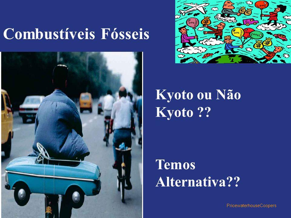 Combustíveis Fósseis Kyoto ou Não Kyoto Temos Alternativa