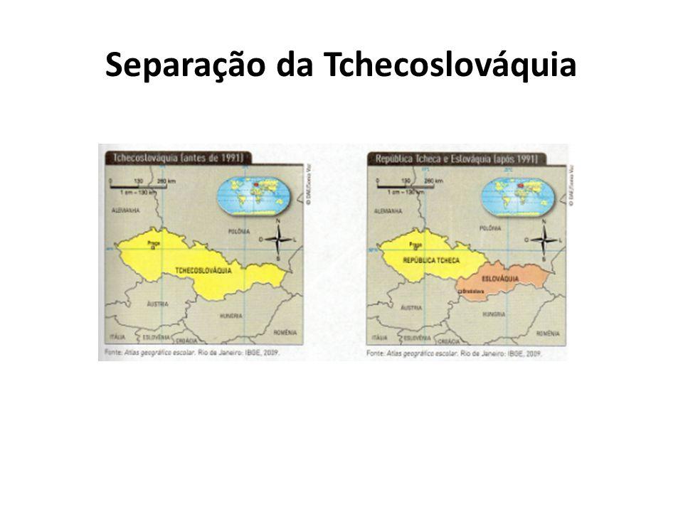 Separação da Tchecoslováquia