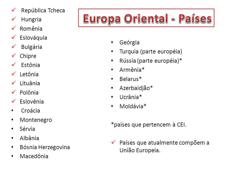 Europa Oriental - Países