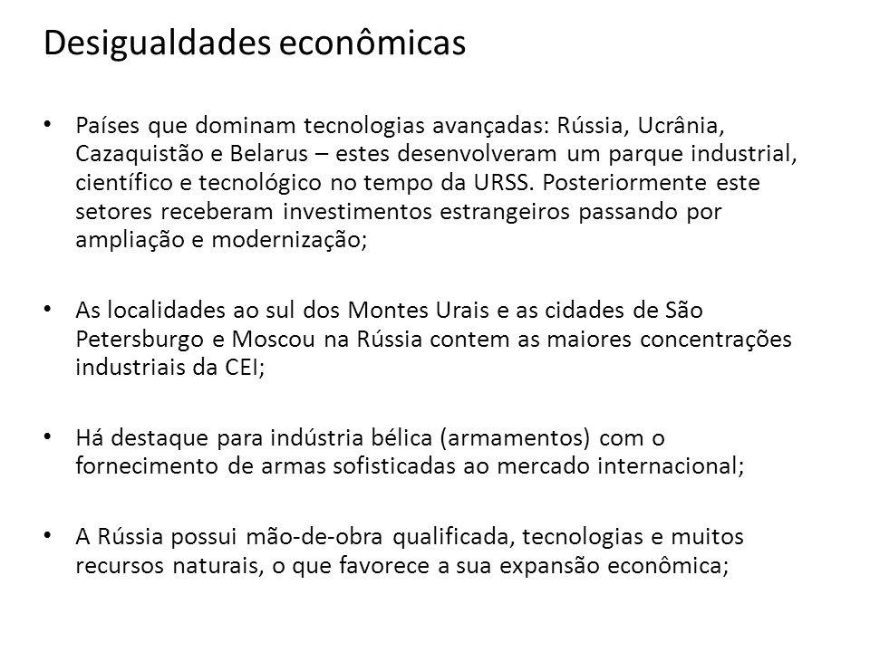 Desigualdades econômicas