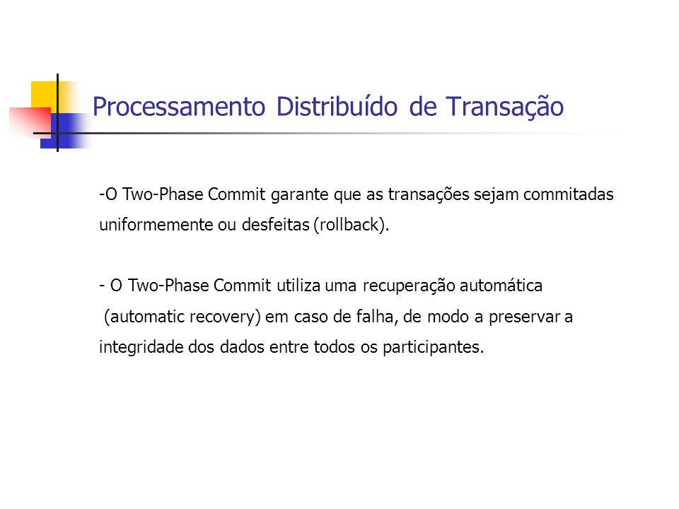 Processamento Distribuído de Transação