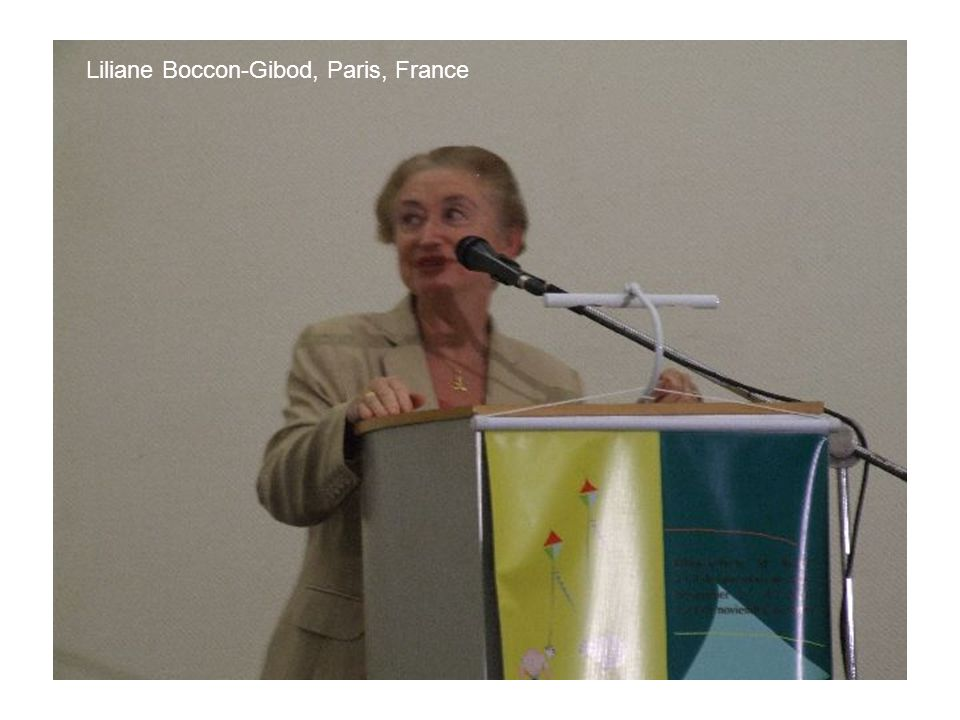 Liliane Boccon-Gibod, Paris, France