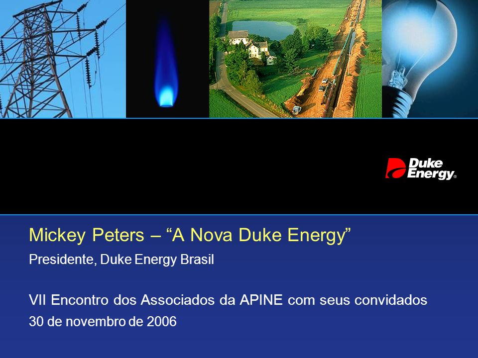 Mickey Peters – A Nova Duke Energy