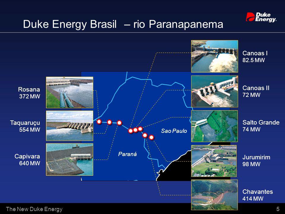 Duke Energy Brasil – rio Paranapanema