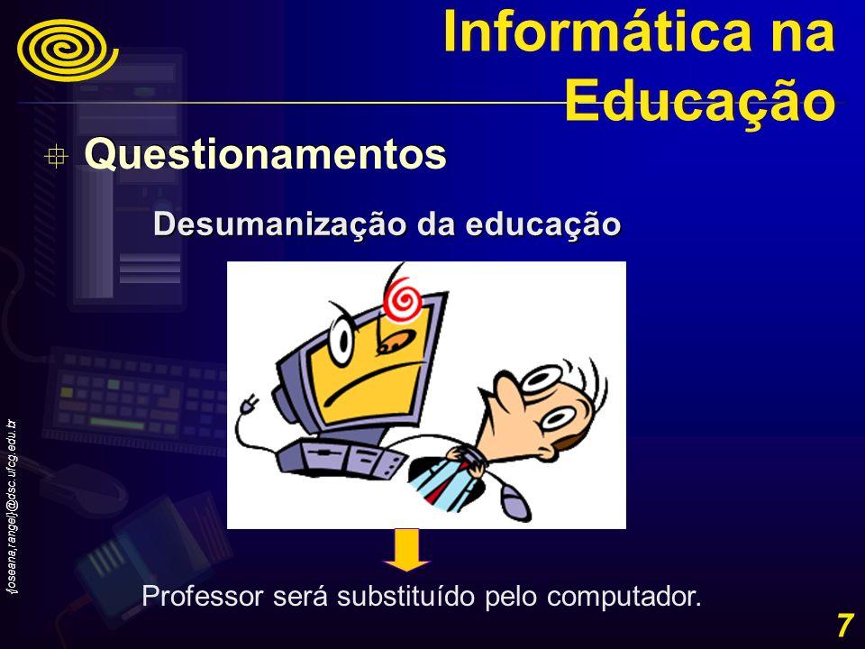 Desumanização da educação