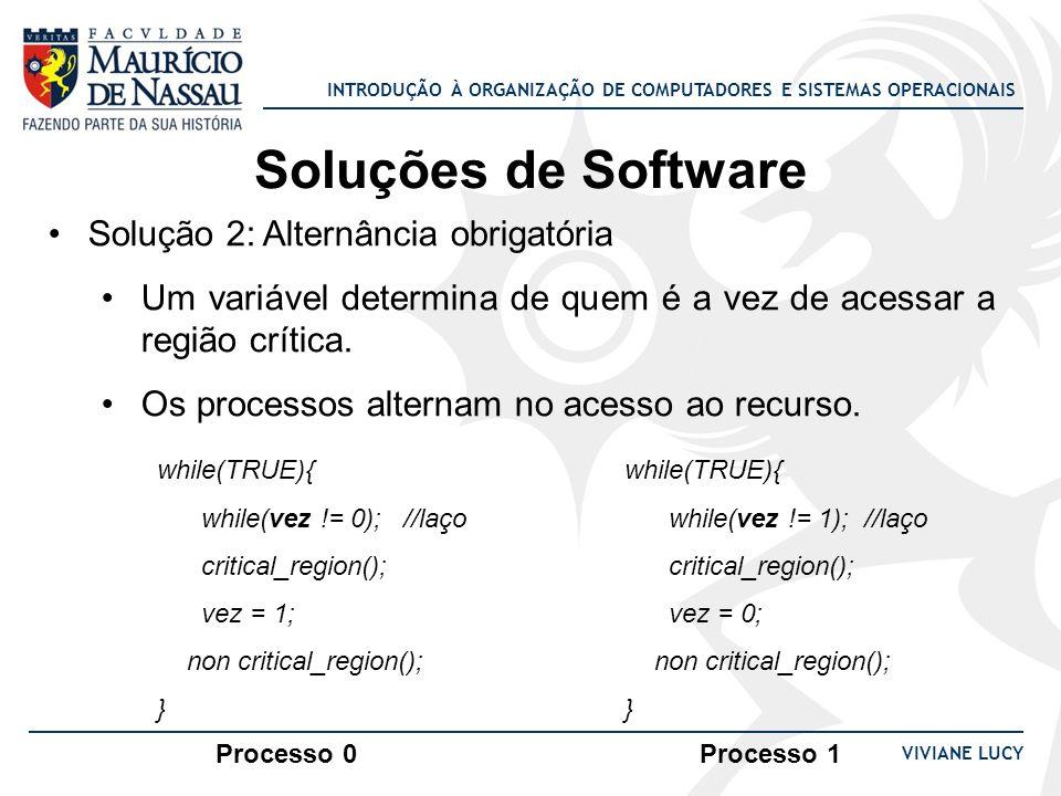 Soluções de Software Solução 2: Alternância obrigatória