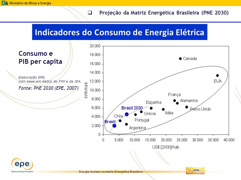 Indicadores do Consumo de Energia Elétrica
