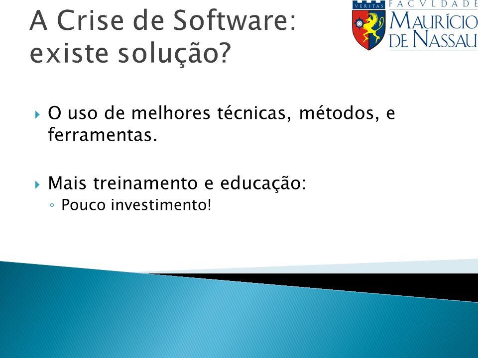 A Crise de Software: existe solução