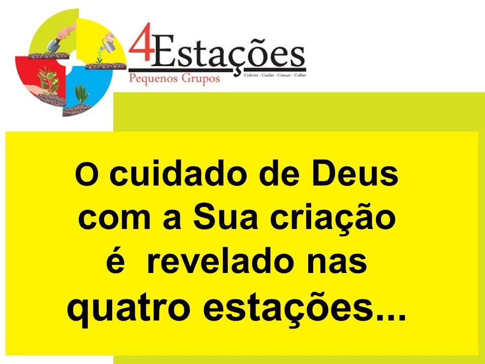 O cuidado de Deus com a Sua criação é revelado nas quatro estações...