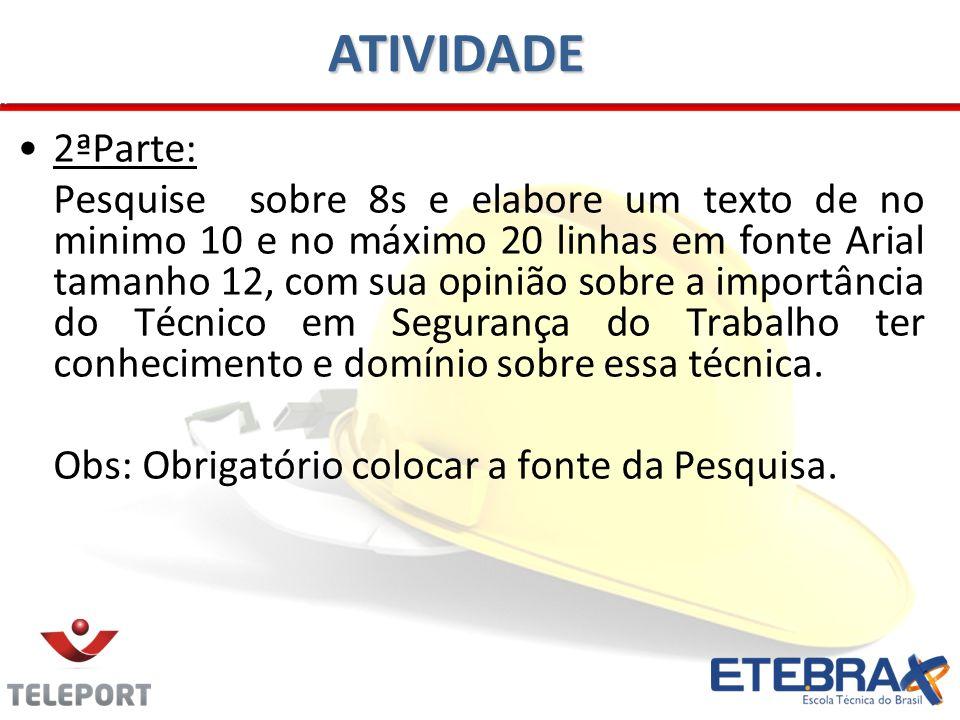 ATIVIDADE 2ªParte: