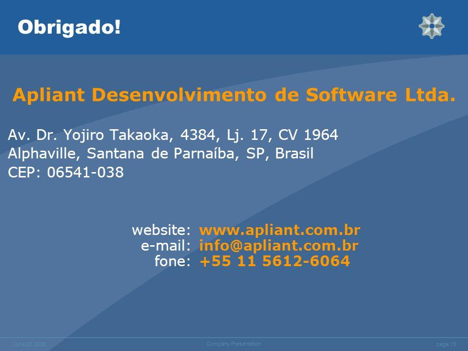 Apliant Desenvolvimento de Software Ltda.