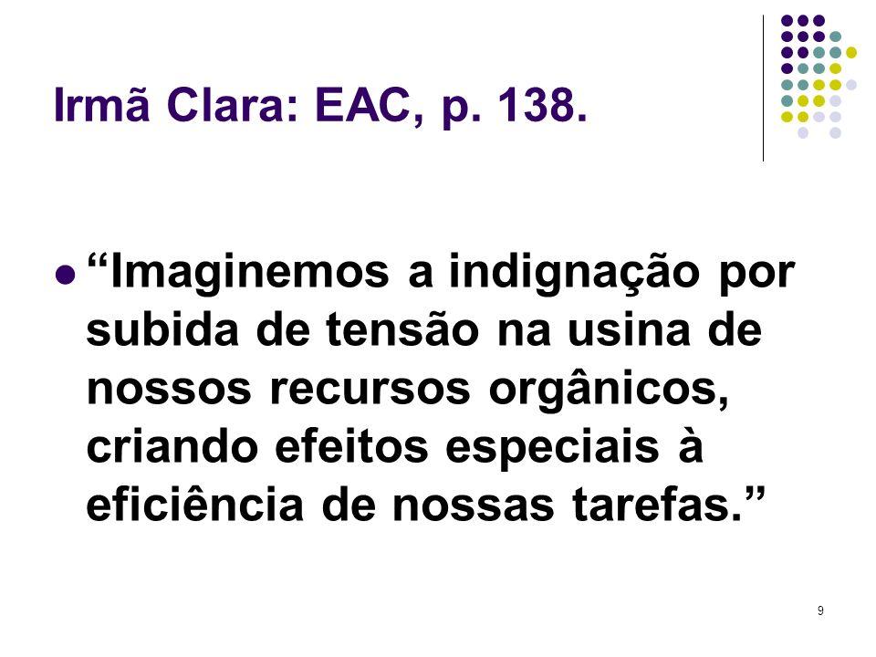 Irmã Clara: EAC, p. 138.