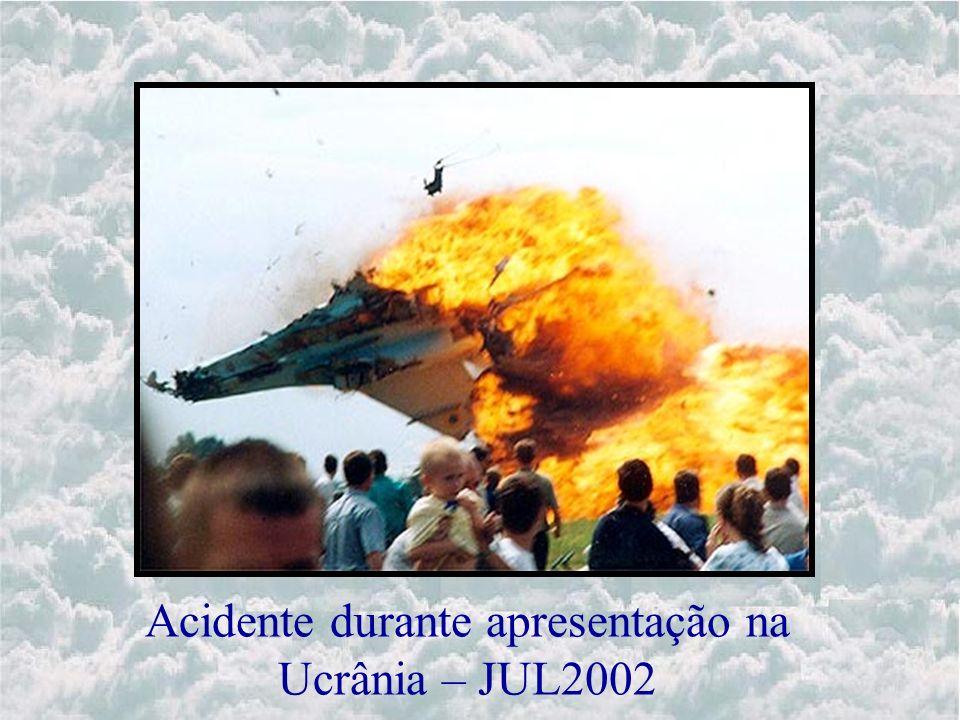 Acidente durante apresentação na Ucrânia – JUL2002