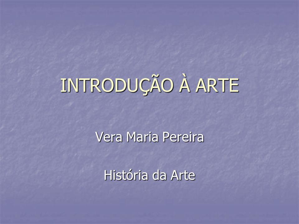 Vera Maria Pereira História da Arte