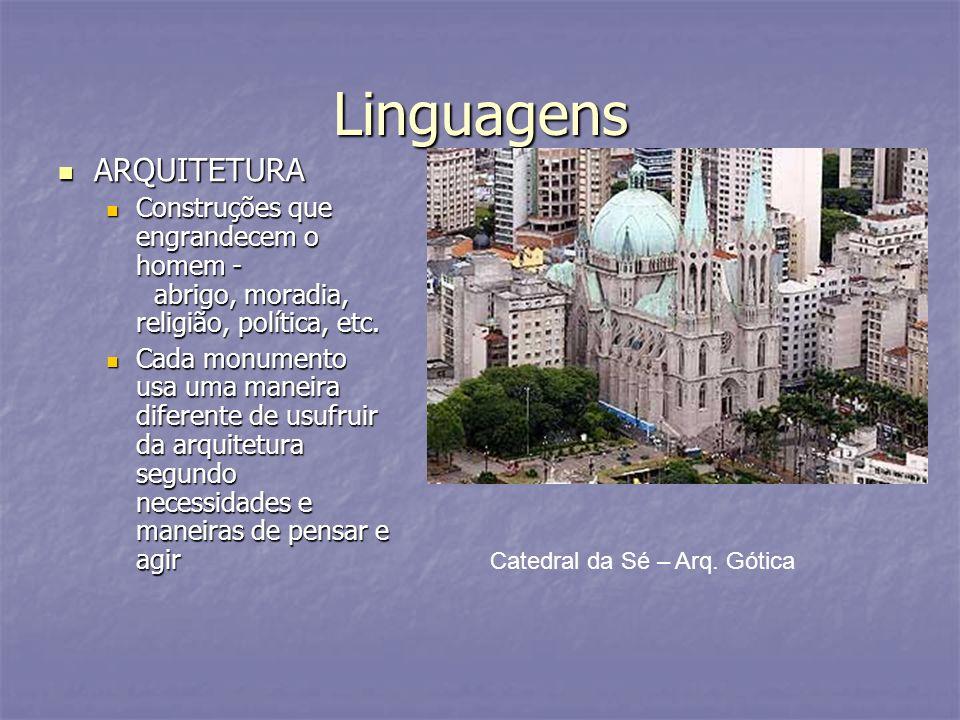 Linguagens ARQUITETURA