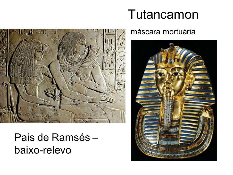 Tutancamon máscara mortuária