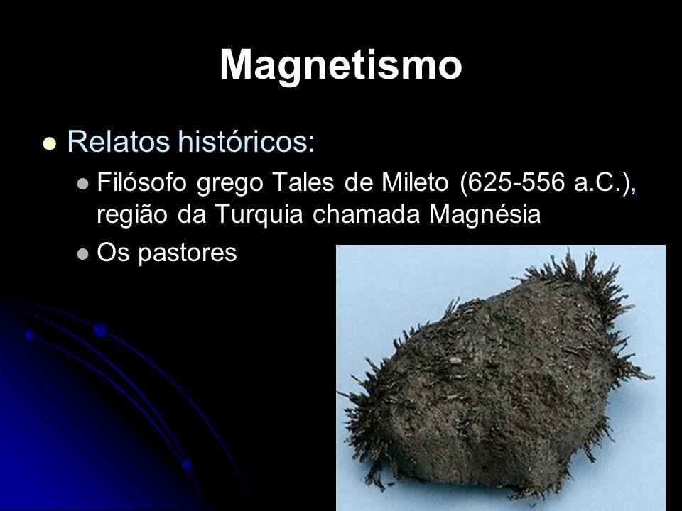 Magnetismo Relatos históricos:
