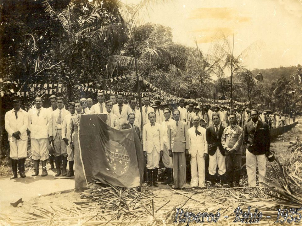 Itaperoá - Bahia - 1935