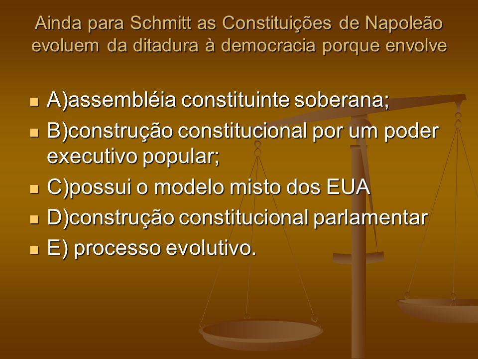 A)assembléia constituinte soberana;