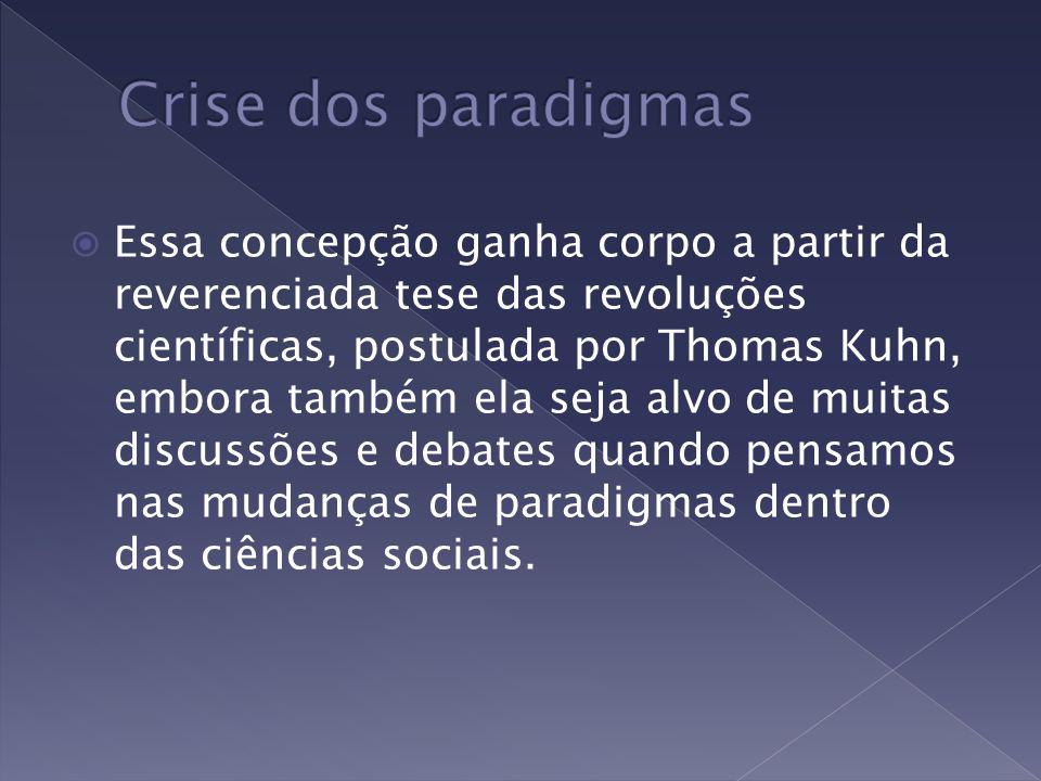 Crise dos paradigmas