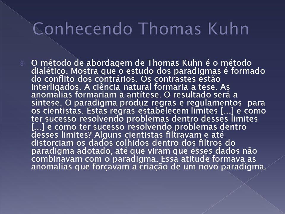 Conhecendo Thomas Kuhn