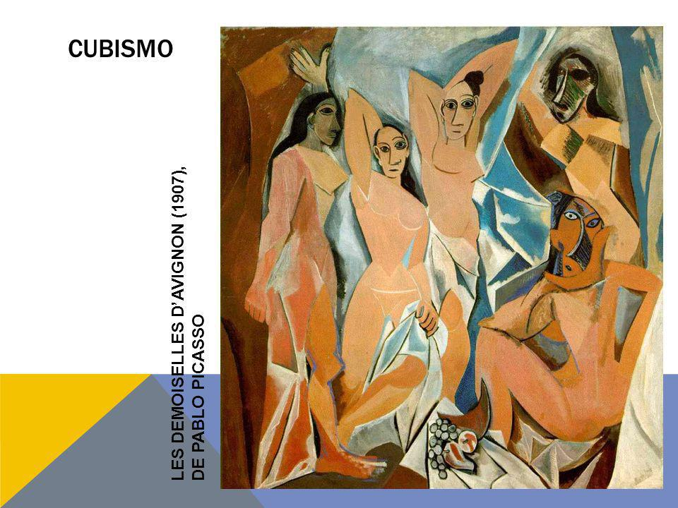 CUBISMO LES DEMOISELLES D'AVIGNON (1907), DE PABLO PICASSO