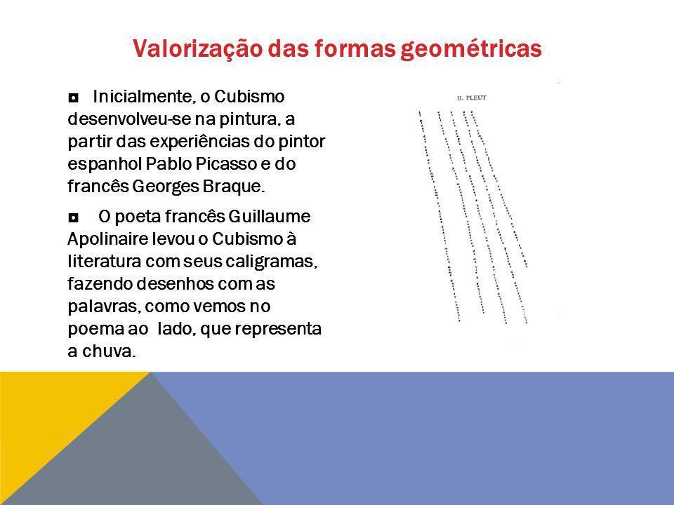 Valorização das formas geométricas