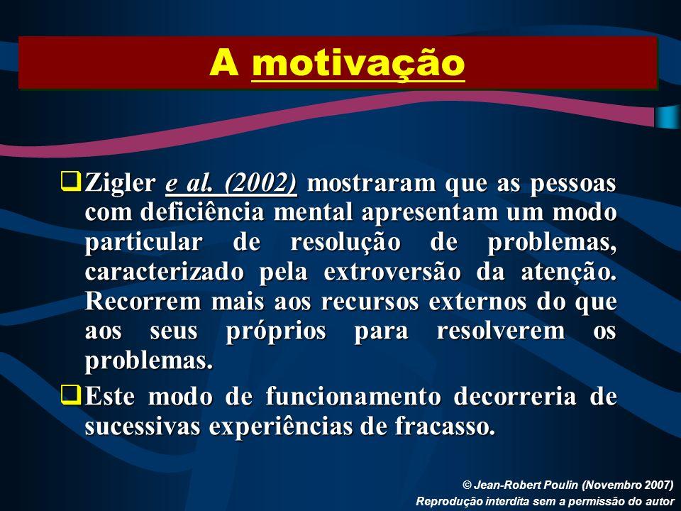 A motivação