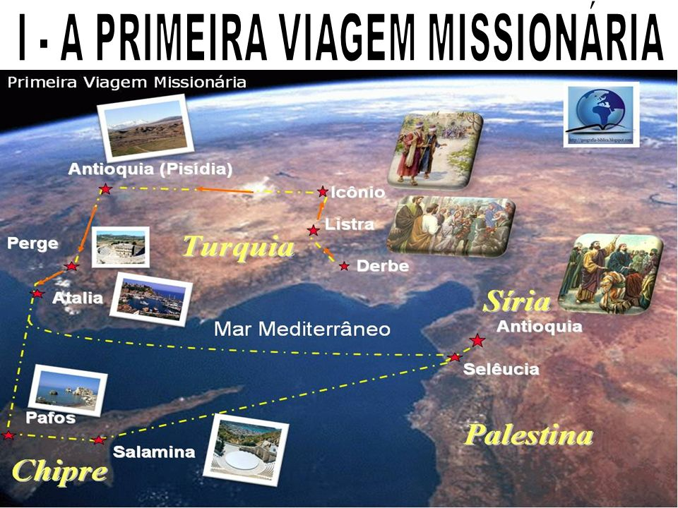 I - A PRIMEIRA VIAGEM MISSIONÁRIA