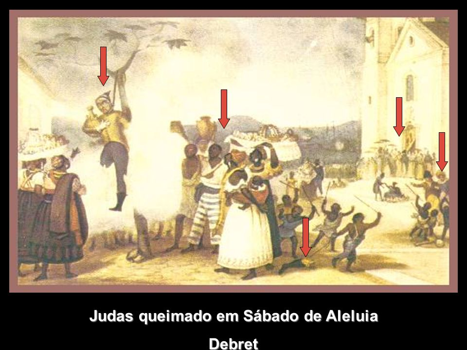 Judas queimado em Sábado de Aleluia