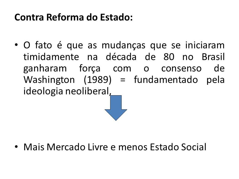 Contra Reforma do Estado: