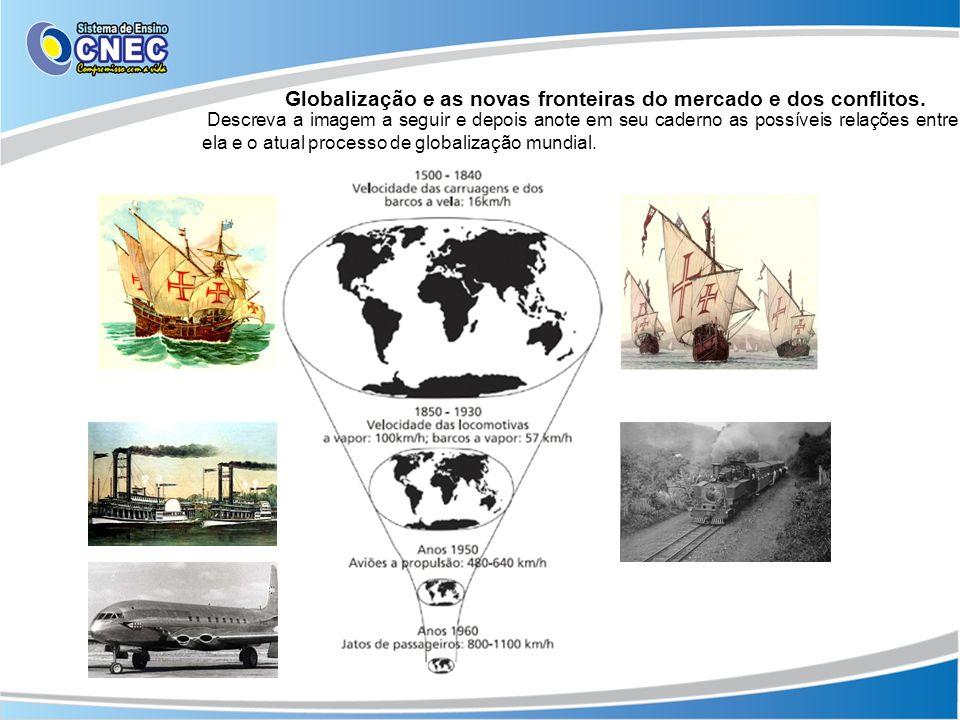 Globalização e as novas fronteiras do mercado e dos conflitos.