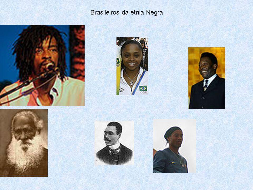 Brasileiros da etnia Negra