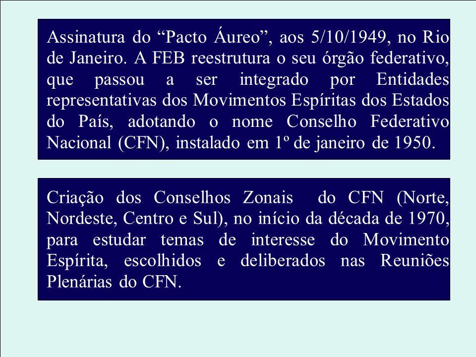 Assinatura do Pacto Áureo , aos 5/10/1949, no Rio de Janeiro