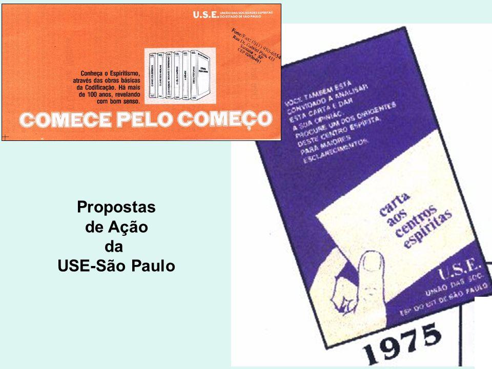 Propostas de Ação da USE-São Paulo