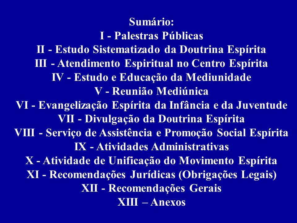 II - Estudo Sistematizado da Doutrina Espírita