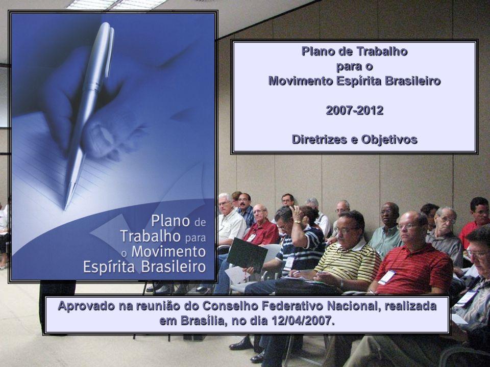 Movimento Espírita Brasileiro Diretrizes e Objetivos