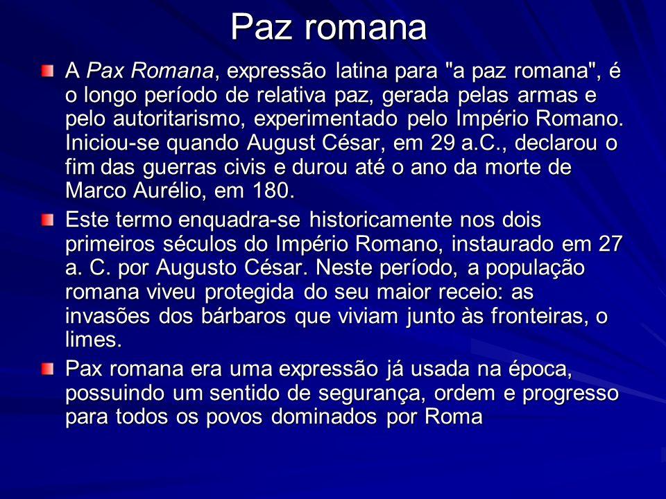 Paz romana