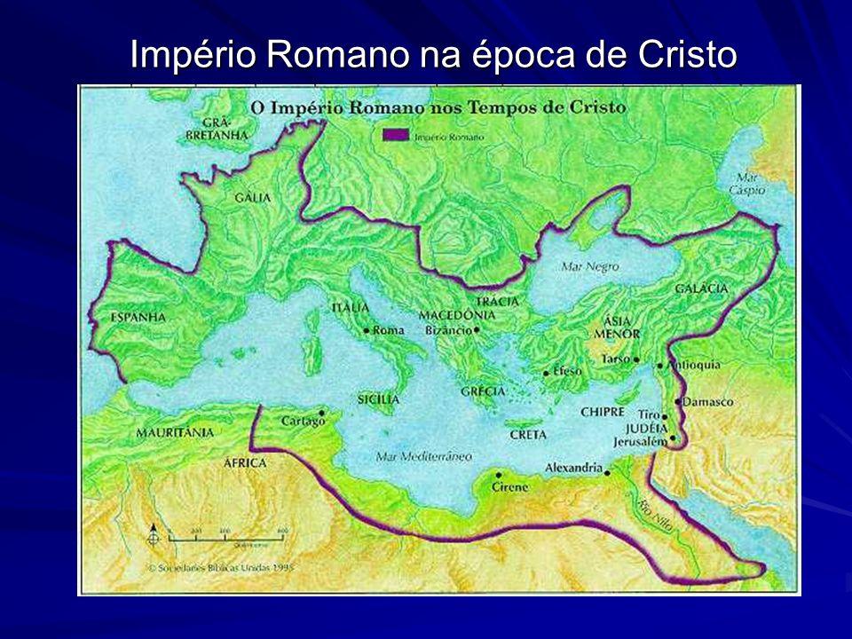 Império Romano na época de Cristo