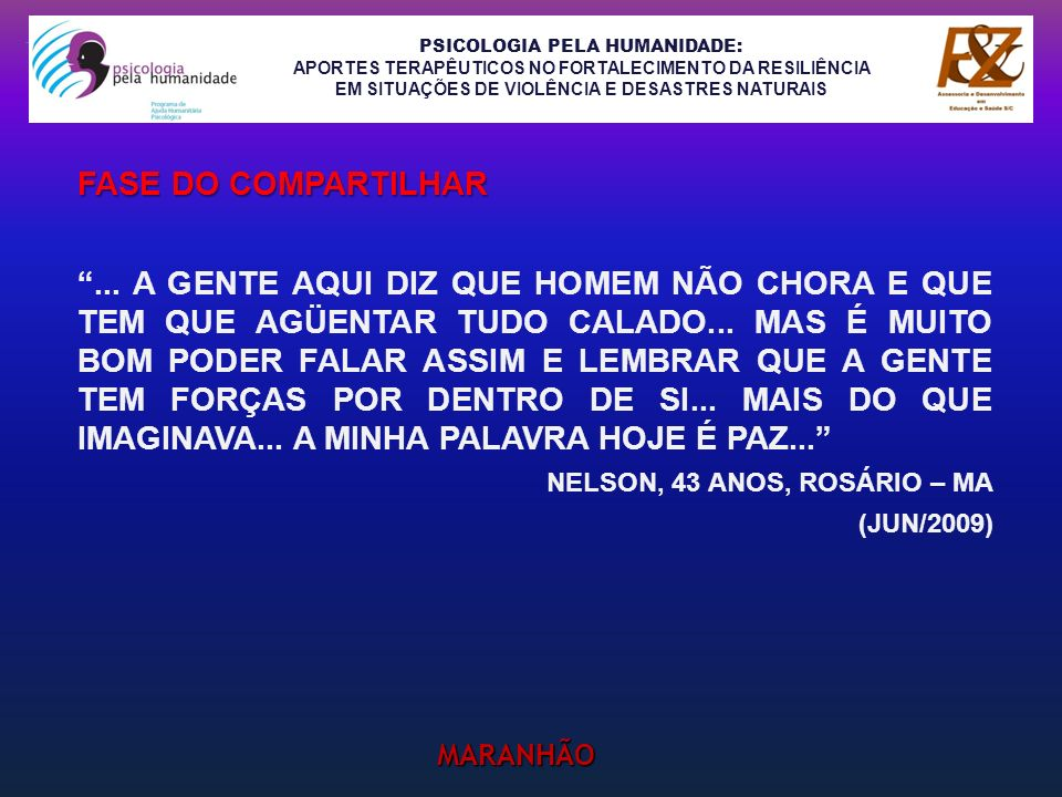 FASE do compartilhar