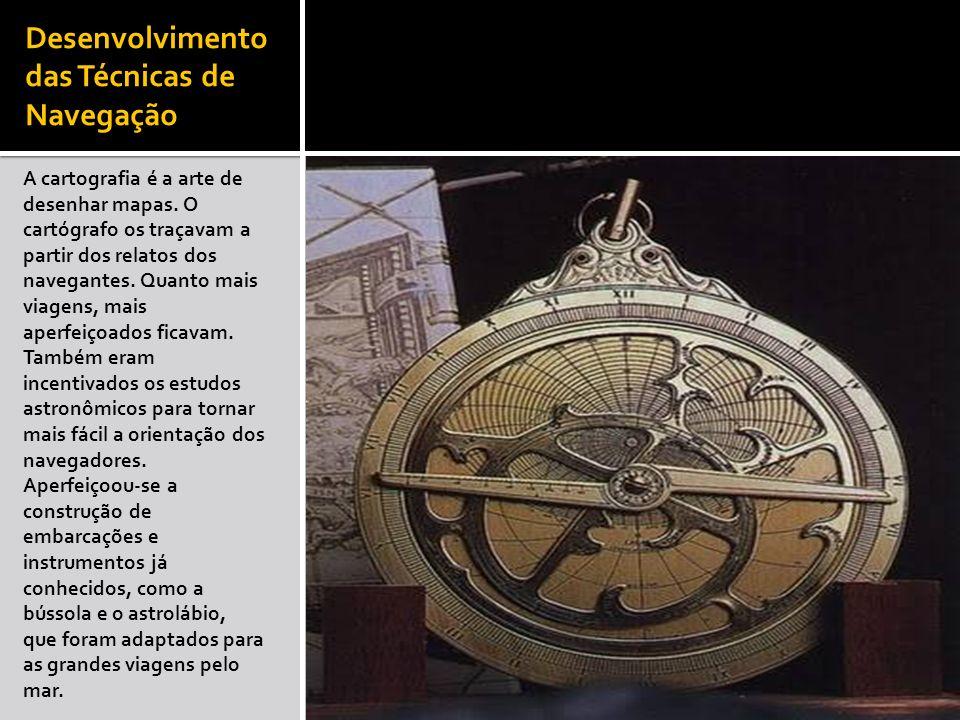 Desenvolvimento das Técnicas de Navegação