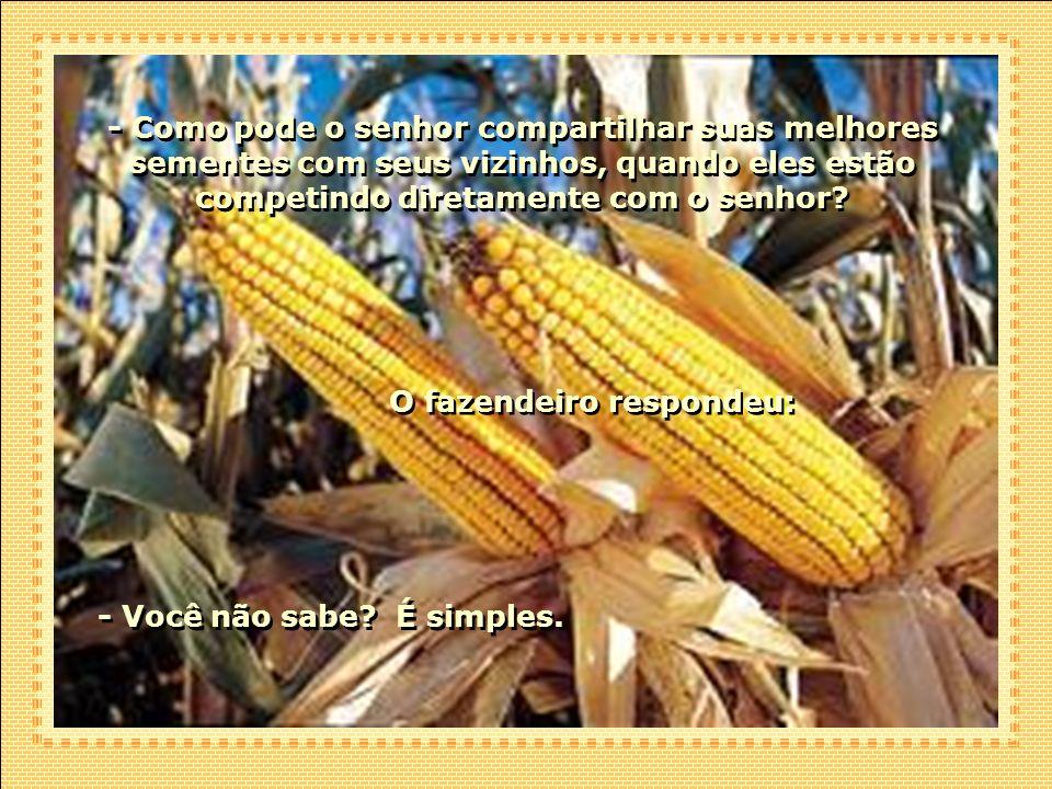 O fazendeiro respondeu:
